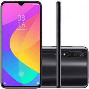 Smartphone Xiaomi MI 9 Lite 128GB 6GB RAM Versão Global Desbloqueado Preto | R$1.798