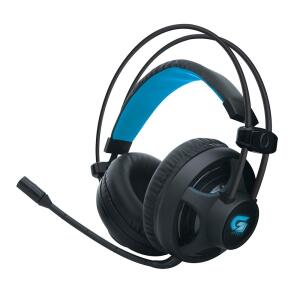 Headset Gamer Fortrek com LED Azul, P2, Preto - H2 - R$66