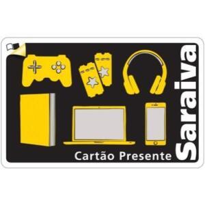 [Mkt Saraiva] Adesivos e Cartões Presente Saraiva a partir de R$0,06