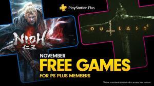 [PS Plus] Jogos Grátis de Novembro - Outlast 2 / Nioh