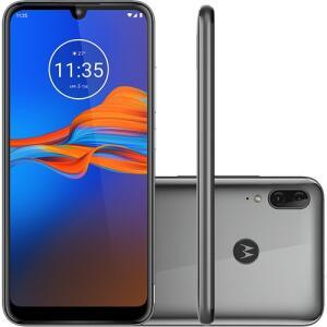 [R$611 AME] Smartphone Motorola Moto E6 Plus Cinza 32GB | R$719