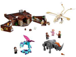 LEGO Animais Fantásticos - Mala de Criaturas Mágicas de Newt 694 Peças