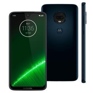 Smartphone Motorola Moto G7 Plus Índigo XT1965 64GB R$ 934