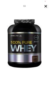 (AME R$ 98)100 % Pure Whey Chocolate 2Kg - Probiótica