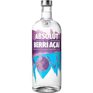 Vodka Absolut Berri Açaí 1 Litro   R$74