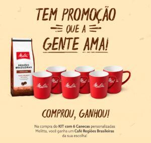 KIT 6 CANECAS + CAFÉ