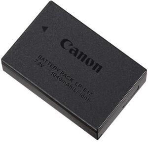 Bateria Canon LP-E17 para T6i, T6s, EOS M3 e EOS SL2 R$ 222