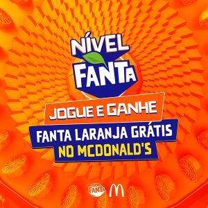 [APP Facebook] FANTA GRÁTIS NO MC DONALDS