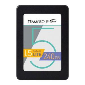 """SSD TEAM GROUP L5 LITE 240GB 2.5"""" SATA III, T2535T240G0C101 - A VISTA NO BOLETO"""