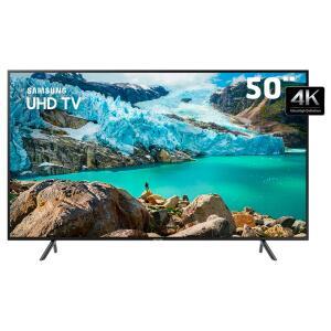 """LED 50"""" UHD 4K Samsung Visual Livre de Cabos, Bluetooth, HDR Premium, HDMI e USB"""