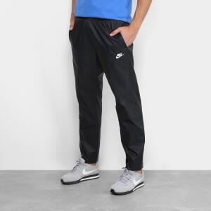 Calça Masculina Nike Nsw Track - Preto e Branco