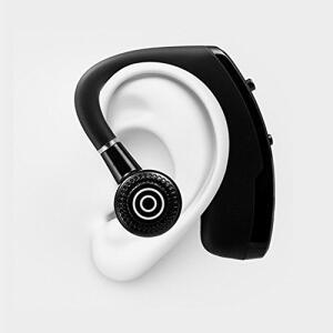 [Prime] Cic Fone de Ouvido Bluetooth Sem Fio Mini, Gancho, Microfone para Chamadas, Apple e Android, Preto | R$79