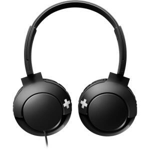 Fone de Ouvido Philips Preto Shl3075bk/00 Bass+ On Ear - Preto