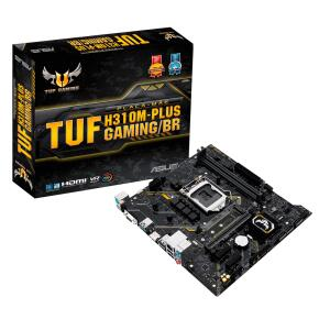 Placa Mãe H310M-Plus Tuf Gaming/BR LGA1151 | R$350