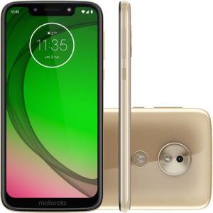 """Smartphone Moto G7 Play Edição Especial Ouro Android Pie - 9.0 5.7"""" 1.8 GHz Octa-Core 32GB 4G Câmera Traseira 13MP - Ouro"""