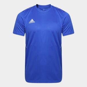 Camiseta Adidas Core 18 Masculina Azul | R$34