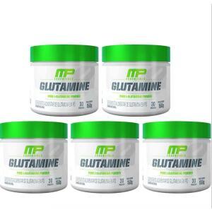 Kit 5x Glutamina Pura MusclePharm 150g