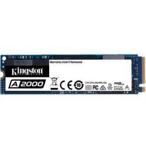 SSD Kingston A2000, 500GB, M.2 NVMe, Leitura 2200MB/s, Gravação 2000MB/s
