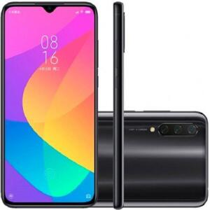 Smartphone Xiaomi MI A3 64GB 4GB RAM Versão Global Desbloqueado Cinza Escuro