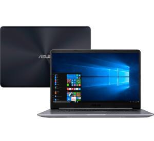 Notebook Asus Vivobook X510UR-BQ291T Intel Core i5 8GB (GeForce 930MX de 2GB ) 1TB Tela Nano Edge 15,6'' Windows 10 - Cinza