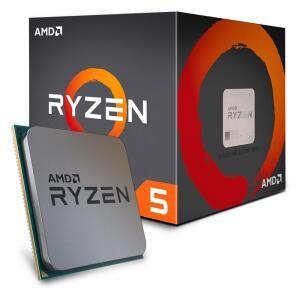 Processador AMD Ryzen 5 1600, Cooler Wraith Spire, Cache 19MB, 3.2GHz (3.6GHz Max Turbo), AM4, Sem Vídeo - R$500
