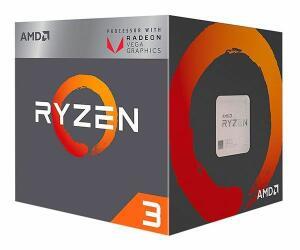 Processador AMD Ryzen 3 2200G Quad-Core 3.5GHz (3.7GHz Turbo) 6MB Cache AM4