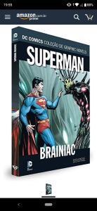 DC Graphic Novels. Superman. Brainiac (Frete grátis prime)