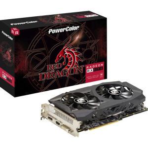 Placa de Vídeo Power Color Radeon Rx 590 8GB Red Dragon | R$899