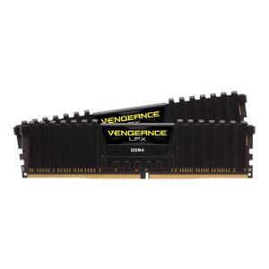 MEMORIA CORSAIR VENGEANCE LPX 16GB (2X8) DDR4 3200MHZ PRETA, CMK16GX4M2B3200C16