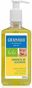 5 X Granado Sabonete Líquido Bebê Glicerinado, 250ml