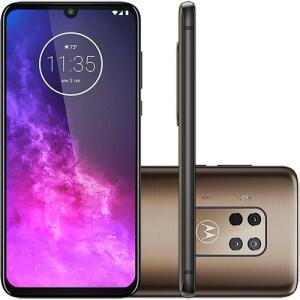 "[CARTAO SHOPTIME] Smartphone Motorola One Zoom 128GB Dual Chip Android Pie 9.0 Tela 6.4"" Qualcomm Snapdragon 675 (SM6"