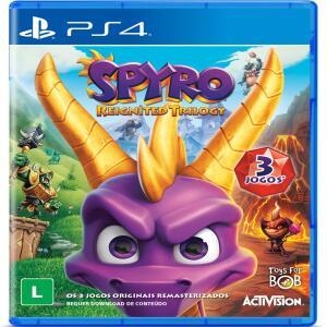 Jogo Spyro Reignited Trilogy - PS4 R$50