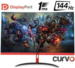 Monitor Gamer LED Curvo 24' 1ms 144hz HQ [R$ 835 com ame] R$931
