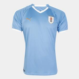 Camisa Seleção Uruguai Home 2019 Torcedor Puma Masculina | R$130