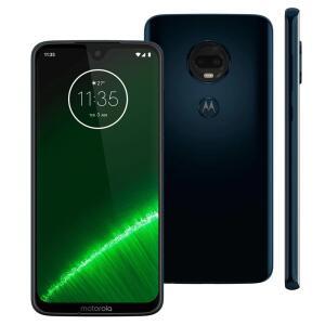 """Smartphone Motorola Moto G7 Plus Índigo XT1965 64GB, Tela de 6,24"""", 4GB de RAM R$849"""