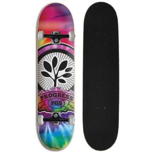 Skate Completo Iniciante Progress - PGS Taidai - Estampado   R$129