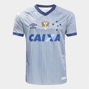 Camisa Cruzeiro III 18/19 s/n - Patch Campeão da Copa do Brasil 2018 - R$80