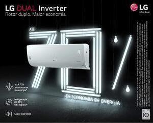 Ar Condicionado Split Hw Lg Dual Inverter 12.000 Btus Quente/frio