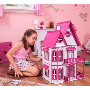 [AME 50%] Casa de Bonecas Escala Polly Modelo Mirian Sonhos - Darama R$ 123