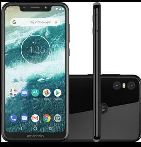 Smartphone Motorola One 64GB Dual Chip Android Oreo - R$750