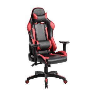 Cadeira Gamer Modelo Racer Preta e Vermelha R$599