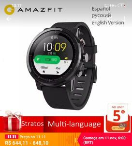 [Apenas 11/11] Smartwatch Xiaomi Amazfit Stratos (Pace 2) | R$641