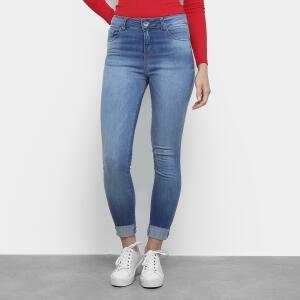 Calça Jeans Malwee Skinny Feminina - Azul R$54