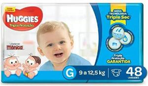 Fralda Huggies Turma da Mônica G | R$30