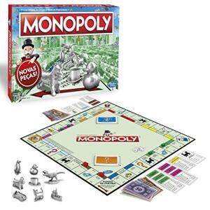 [Prime] Jogo Hasbro Gaming Monopoly - C1009 Hasbro Gaming Verde/vermelho
