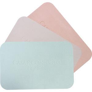 (AME R$70 de volta) Tapete de Banheiro Dry Feet Cinza ou Rosa 47x30 cm - Casa & Conforto R$100
