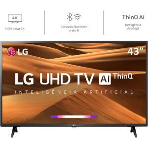 [AME 20%] Smart TV Led 43'' LG 43UM7300 Ultra HD 4K R$ 1500