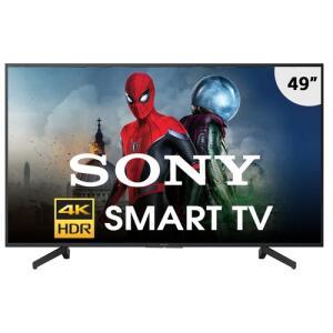 "Smart TV LED 49"" Sony 4K UHD KD-49X705G | R$ 1.899"