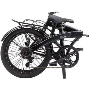 Bicicleta Dobrável Durban Eco+ Aro 20 6V Comfort Preta | R$1.199