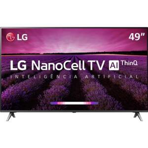 Smart TV LED LG 49'' Ultra HD 4K com Conversor Digital 4 HDMI 3 USB Wi-Fi 60Hz